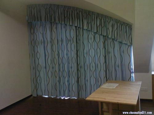 斜窗窗帘做法_【窗帘培训】-\