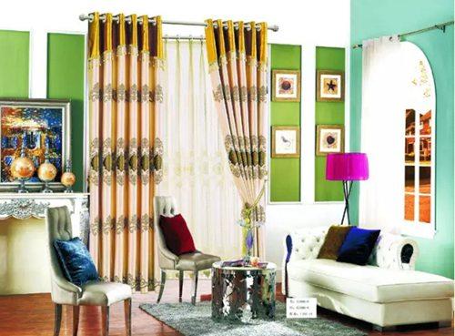 窗帘的颜色设计搭配技巧!